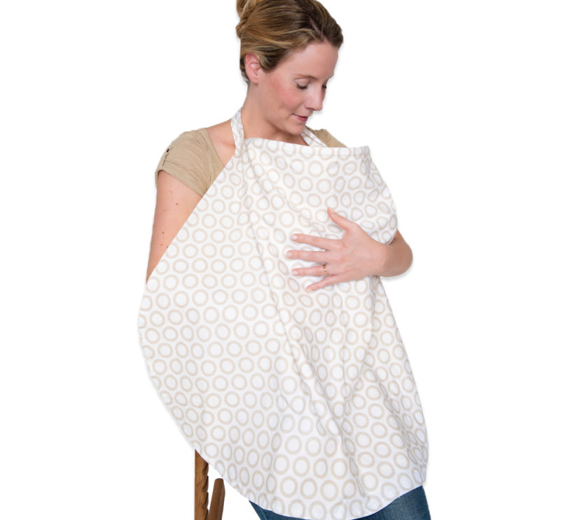 JustEssentials Nursing Cover_Woman breastfeeding